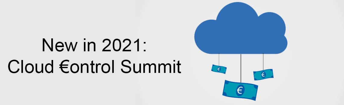 New Summit: Cloud €ontrol Summit